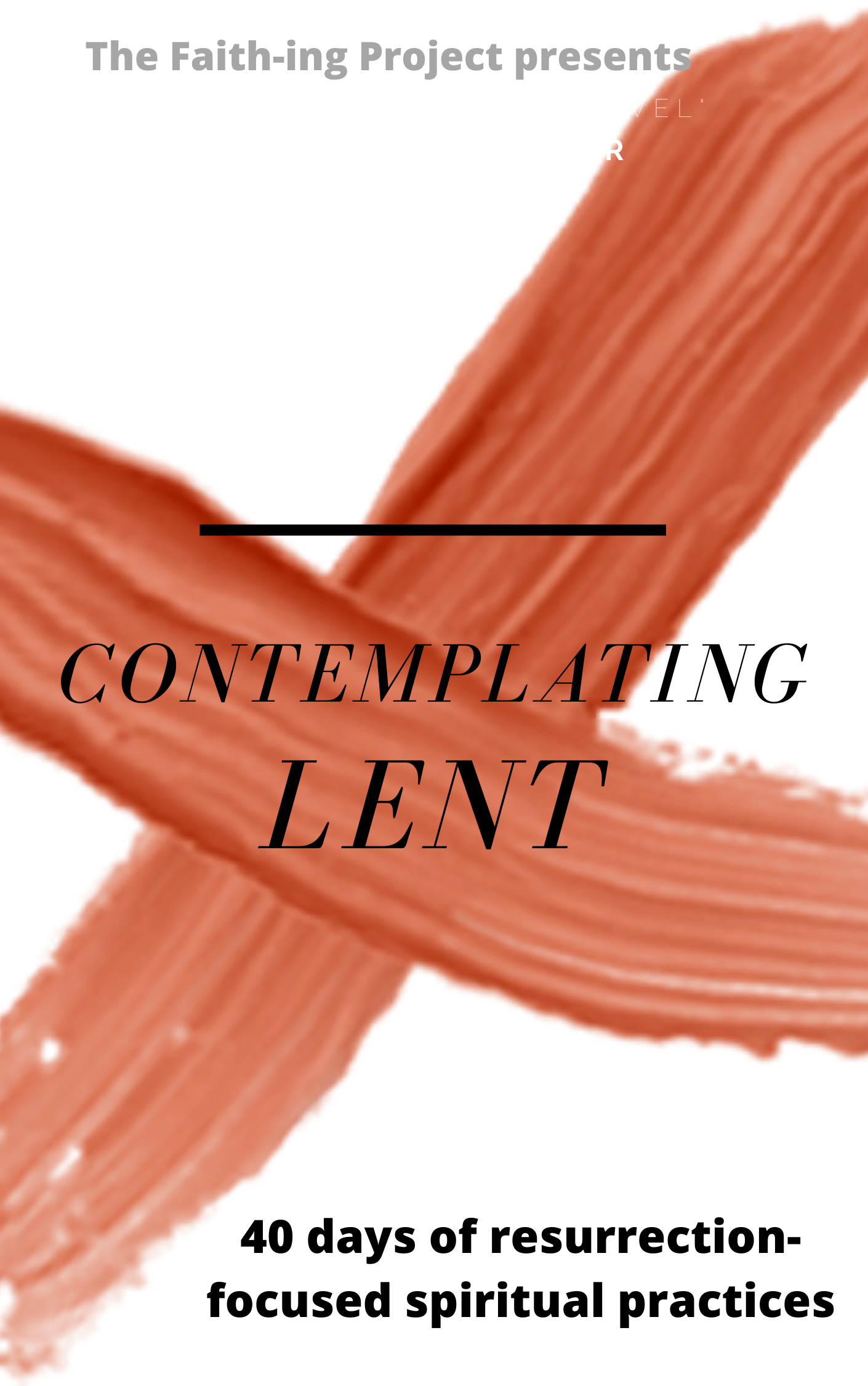 Contemplating Lent (1)